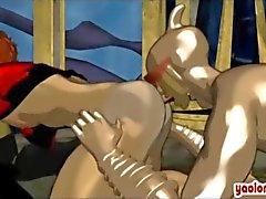 гей actionheroes собачьи анимационный хентай
