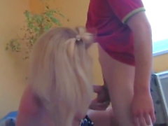 Lucky Young Guy Hard Fucks Sexy German Blonde MILF