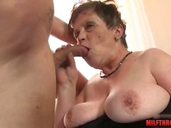 Hot mature hardcore and cumshot