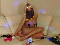 amatör blondin solo webkamera