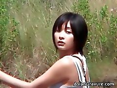Amazing hot real asian model posing part6