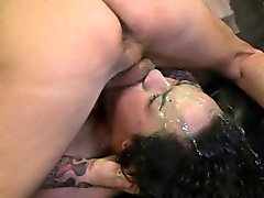 Becca Lee close up black rough face fuck