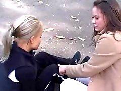 cunnilingus parmak lezbiyenler