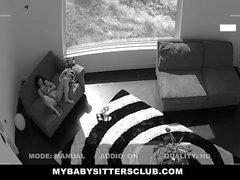 BabySitter Fucks Her Boss To Keep Her Job