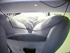 Hidden cam under desk of my mom catches her fingering