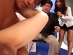 asiático boquete masturbação