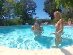 Dani Daniels Pool Go Pro Fun - Scene 1