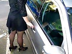 engraçado nudez em público webcams