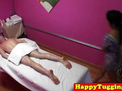 Real two nuru masseurs spoil customer
