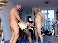 pompino brunetta europeo hardcore