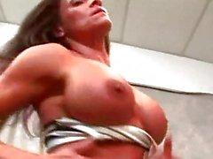 Kristine of Bodybuilders in Heat