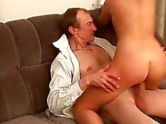 Beauties are having lusty drilling with teacher