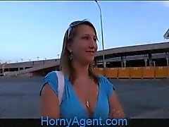 HornyAgent Does she really think she is a model?
