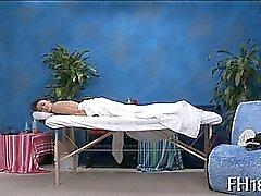 amateur brünett massage