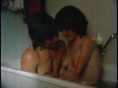 Classic Quad Amputee Bath Scene