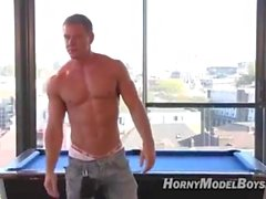 amatuer hot straight swedish muscular model
