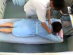 Obscene Massage Therapist Change Room