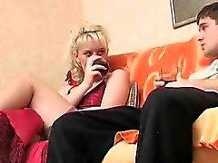 Marvelous Horny Astonishing Pantyhose Lady Pounded