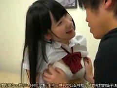 Japanese Teen Blowjob Dick In Elevator