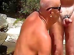 гей пляж гей-порно групповой секс