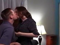 Amateur couple making love in their bedroom