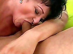 Fat granny gets fucked by her young lover