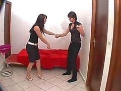fetiş lezbiyen ayaklar köle boyun eğme