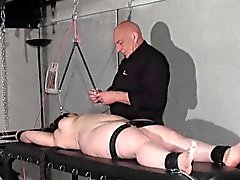 Nipple tortured crying fat slaveslut