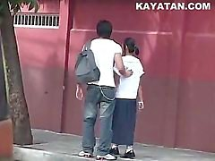 pareja adolescente asiático amateur cámara web