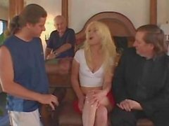 Hot Blonde wife enjoyed a great sex