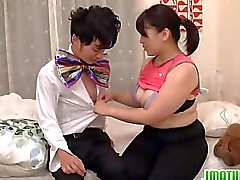 pareja maduro asiático japonés