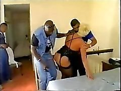 White Sluts Birthday Party, BBC Gangbang 1