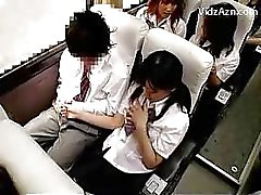 asiatique public écolières