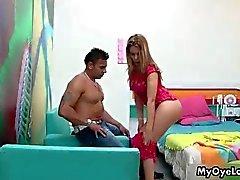 Nasty latina slut from OyeLoca wants to tease
