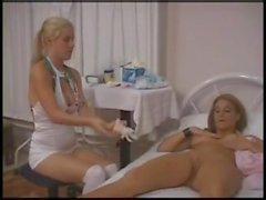 hemşire sınav doktor tıbbi lezbiyen