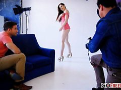 Tina Kay Tina Has a Photoshoot and Then Gets Laid Right on t