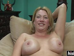 big tits solo blondine