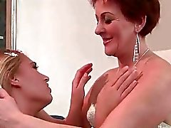 Linda Ray loves hot redheaded granny