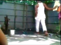 Bangladeshi boy n girl Fucking Outdoor Bath
