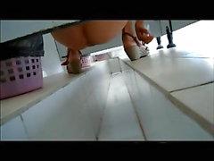 asiático câmaras ocultas voyeur