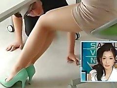 knick japanisch im japanischen füße