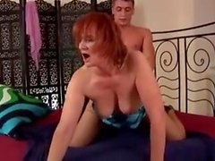 Hot milf and her younger lover 767
