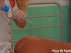 Your nurse strapon fantasy is about to come true