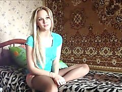 Stunning blondie fucked by her boyfriend.
