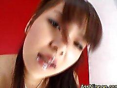 solo chica masturbación el pelo negro asiático masturbación vaginal