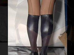 Tight Latex Hotpants