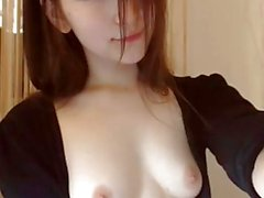Asian hottie squirts for you