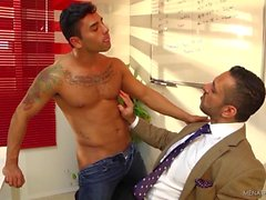 adam champ gai couple gay le sexe oral
