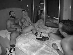 homosexuell gruppen-sex muskel