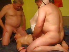 Mature German Couple MMF